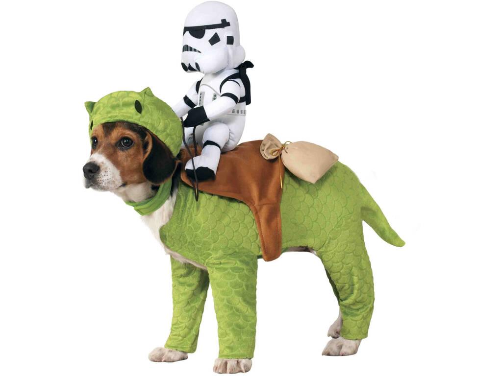 Disfarce Mascote Star Wars Dewback com Cavaleiro Tamanho Único Rubies 886582