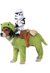 Kostüm Haustier Star Wars Dewback mit Reiter Größe Einheitsgröße Rubies 886582