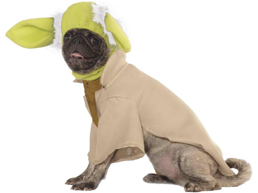Disfarce para Mascotes Star Wars Yoda Tamanho S Rubies 887853-S