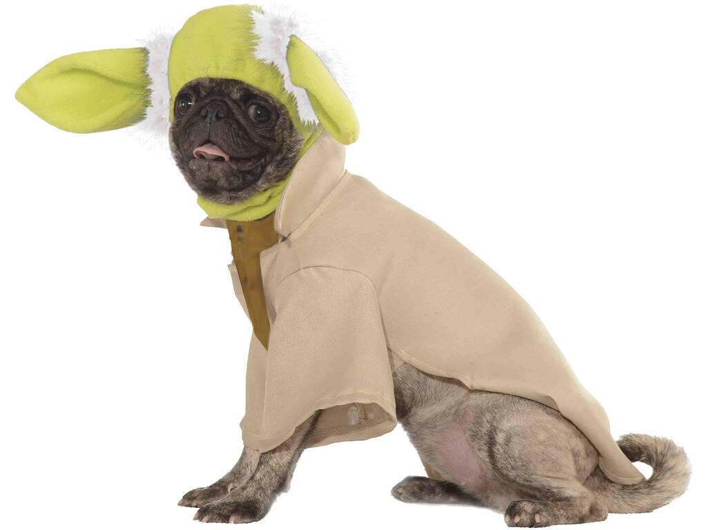 Disfarce para Mascotes Star Wars Yoda Tamanho L Rubies 887853-L