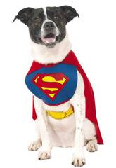 Costume per Animali Superman S Rubies 887892-S