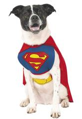 Costume per Animali Superman XL Rubies 887892-XL