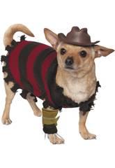 Costume per Animali Freddy Krueger M Rubies 580052-M