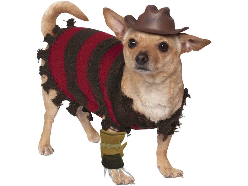 Costume per Animali Freddy Krueger L Rubies 580052-L
