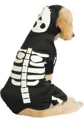 Kostüm Haustiere Skelett das in der Dunkelheit glänzt Größe M Rubies 887825-M