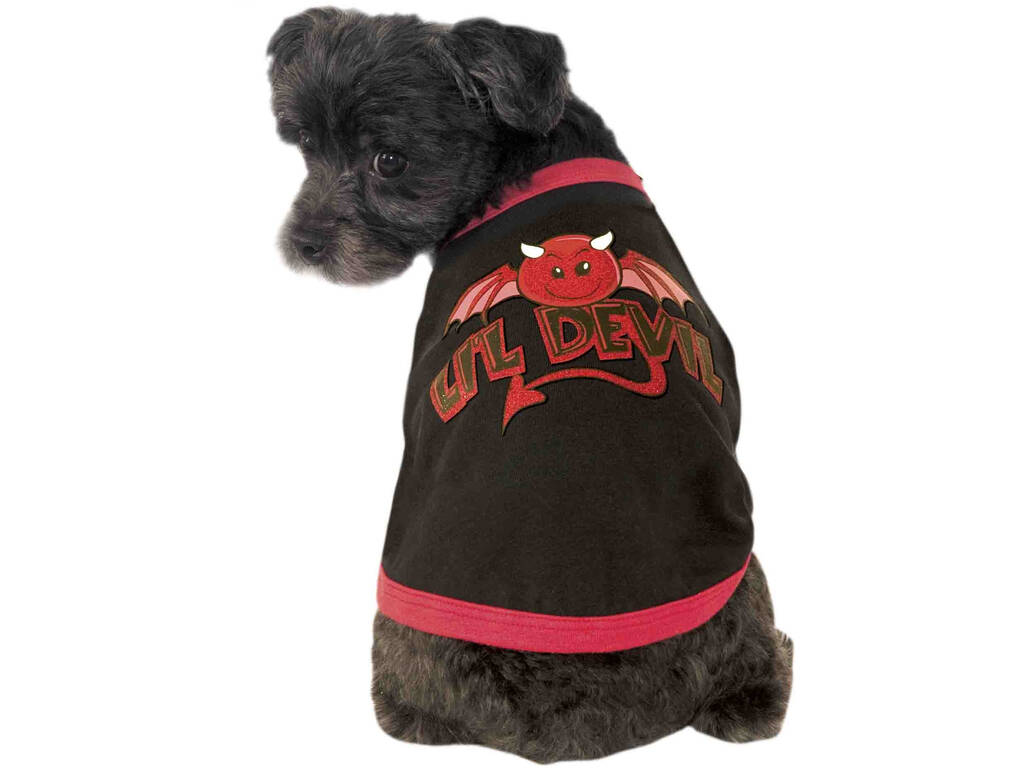 Costume per Animali Little Devil L Rubies 610542-L