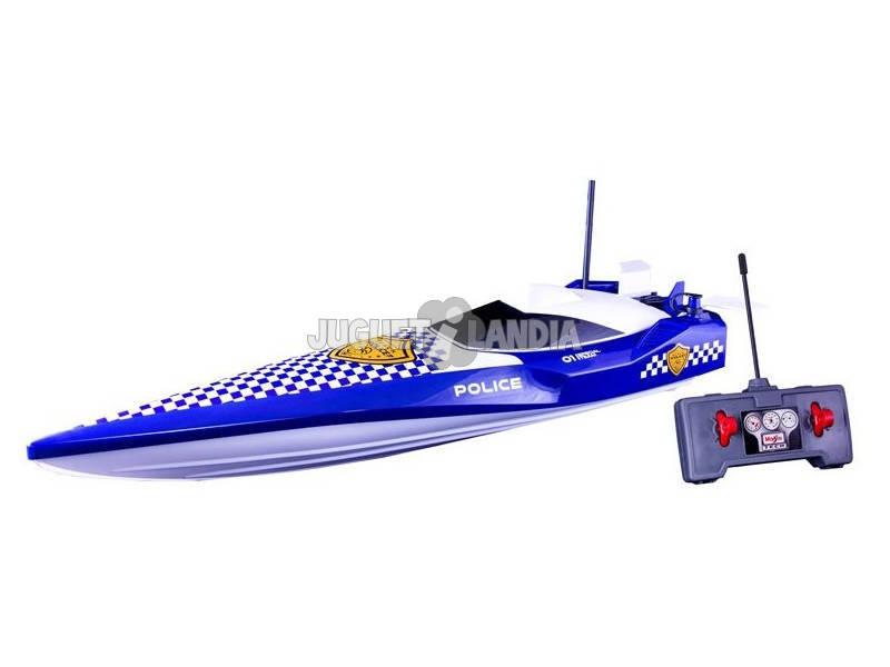 Radio Control Tech Lancha Hydro Police Maisto 87322
