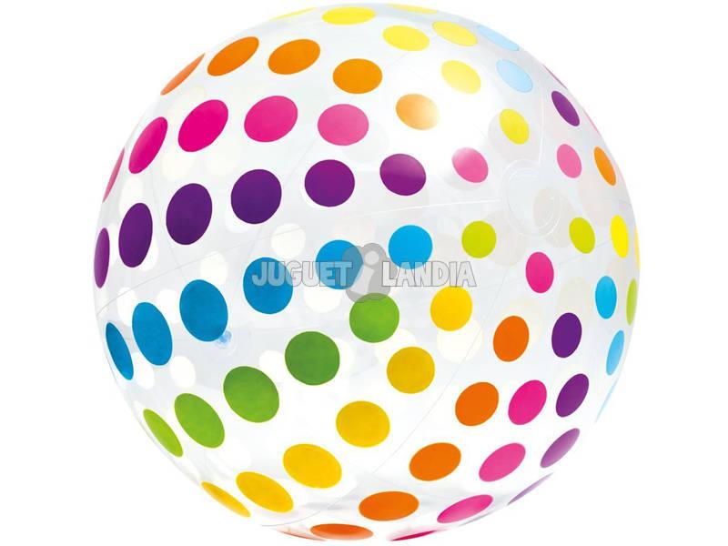 Bola inflável gigante de 183 cm. Intex 58097