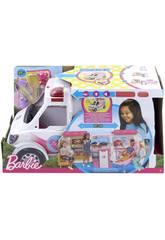 Barbie Ambulancia Hospital 2 en 1 Mattel FRM19