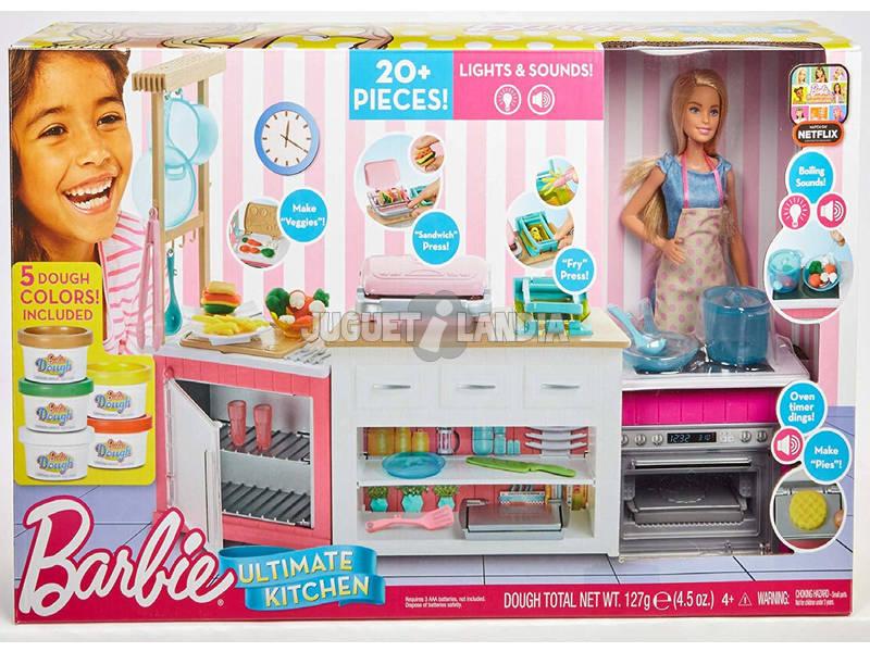 A Cozinha De Barbie Supe Chef Mattel FRH73