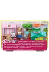 imagen Barbie Bambola Chelsea e Playset dell'Orto Mattel FRH75
