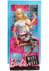 Barbie Movimentos Sem Mattel FTG80