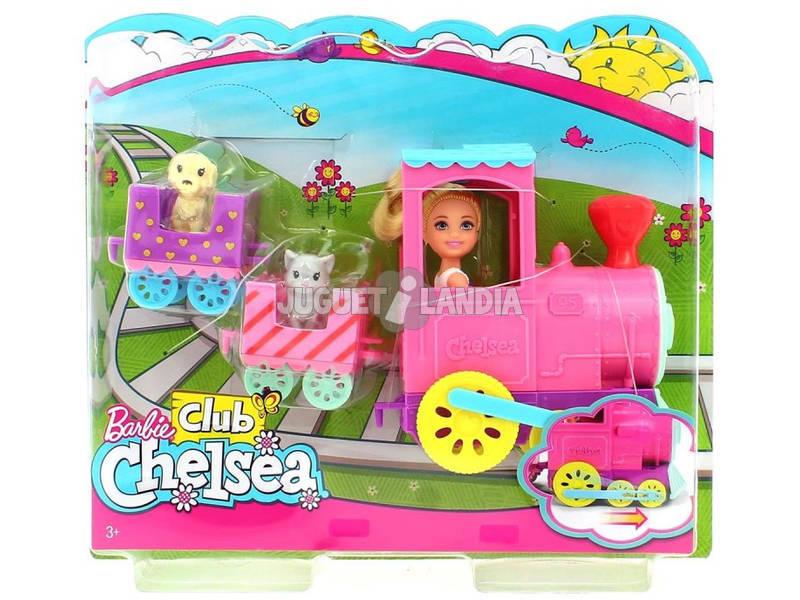 Barbie Chelsea e o Seu Comboio De Animais de Estimação Mattel FRL86
