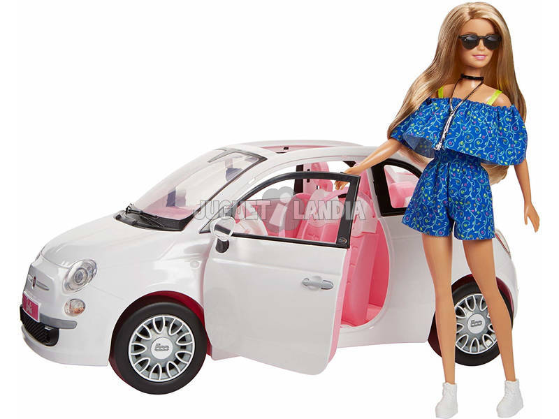 Barbie Coche Fiat Mattel FVR07
