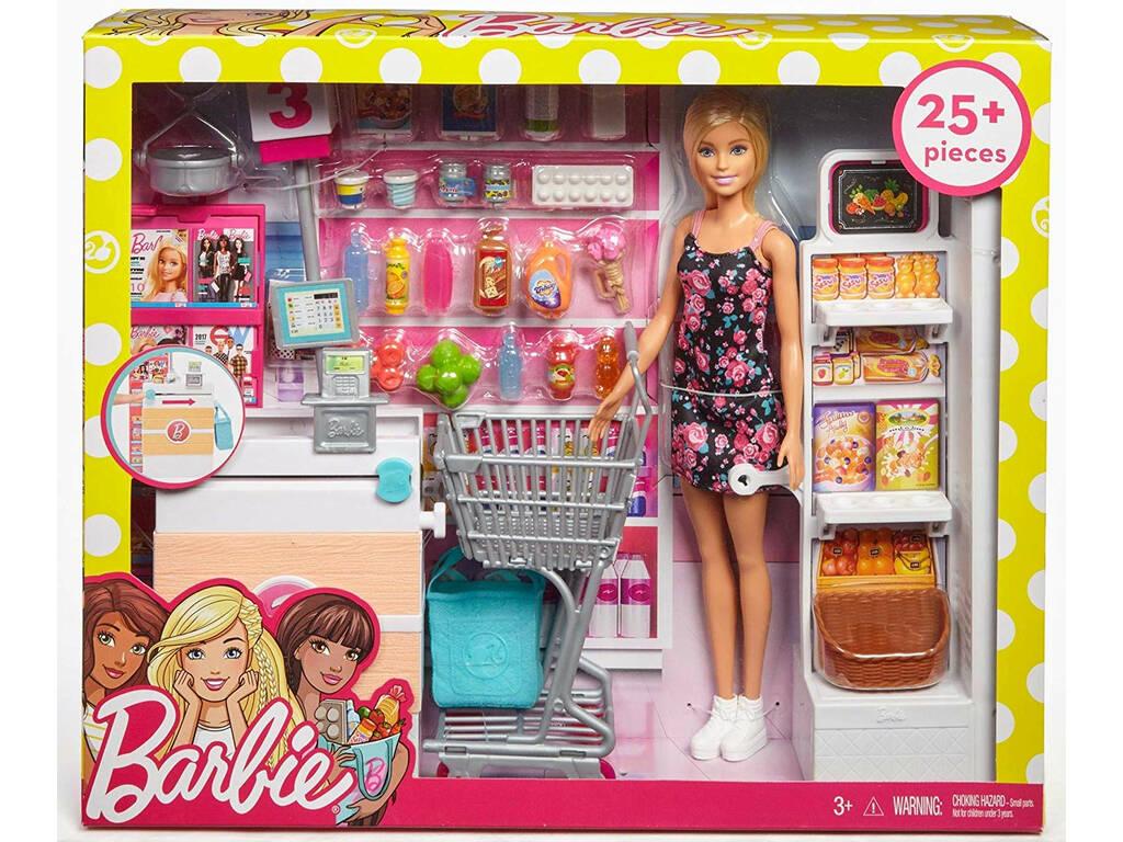 Barbie Andiamo Al Supermercato Mattel FRP01