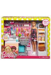 Barbie On Va au Supermarché Mattel FRP01