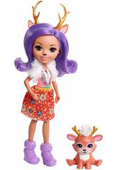 imagen Enchantimals Muñeca y Mascota Ciervo Mattel FNH23