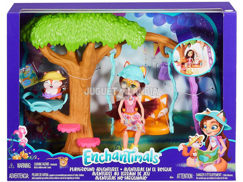 Enchantimals Jardín Divertido Mattel FRH45