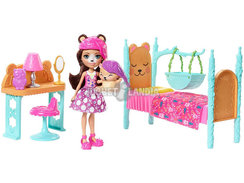 Enchantimals Quarto Mágico Mattel FRH46