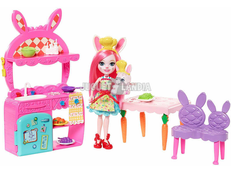 Enchantimals Cozinha Divertida Mattel FRH47