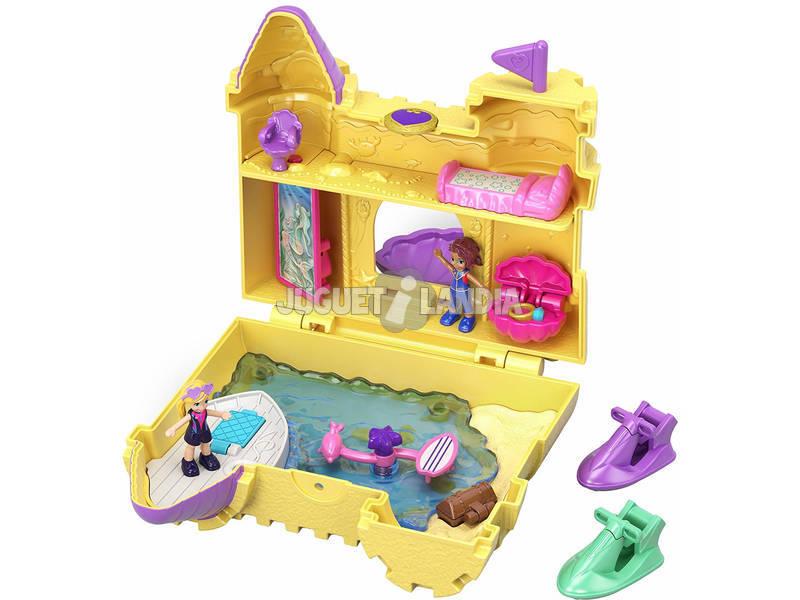 Polly Pocket Cofre Castillo de Arena Mattel GCJ87