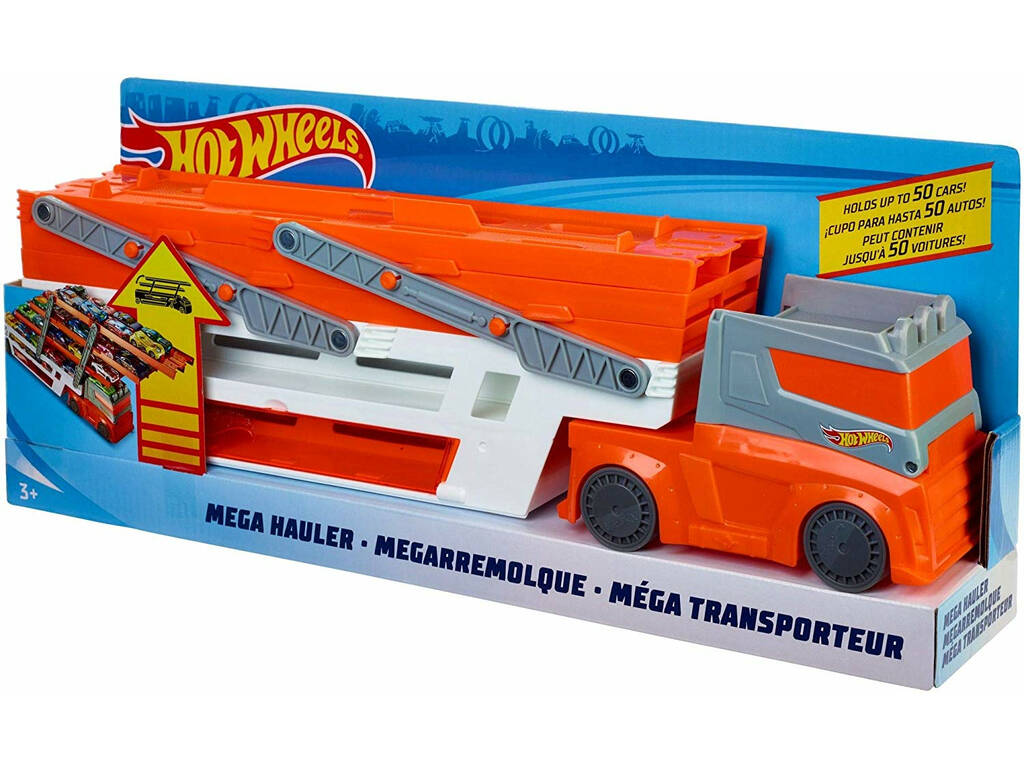 Hot Wheels Megacamión Mattel FTF68