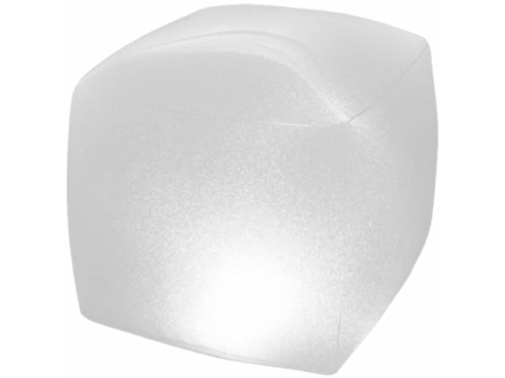 Lâmpada LED flutuante para piscinas e spas 22x23x23 cm. Intex 28694