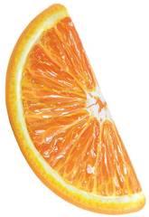 Colchoneta Hinchable Naranja de 178x85 cm. Intex 58763