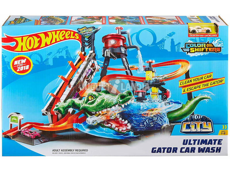 Hot Wheels Mega Autolavaggio Playset Mattel FTB67