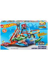 Hot Wheels Crocodile Túnel De Lavage Mattel FTB67