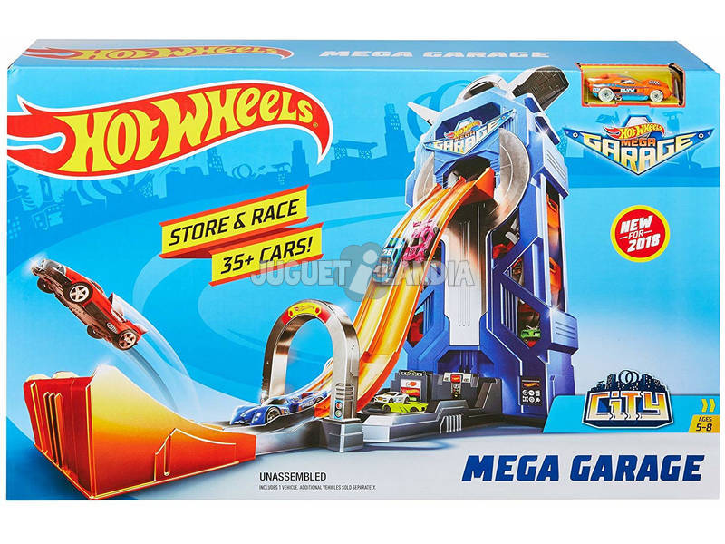 Hot Wheels Super Megagaraje Mattel FTB68