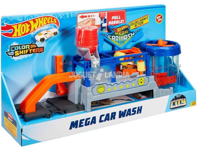 Hot Wheels City Mega autolavaggio FTB66 Mattel