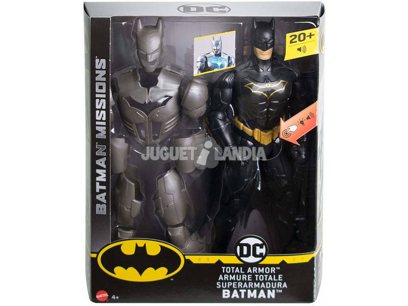 Batman Super Armadura Mattel FYY22