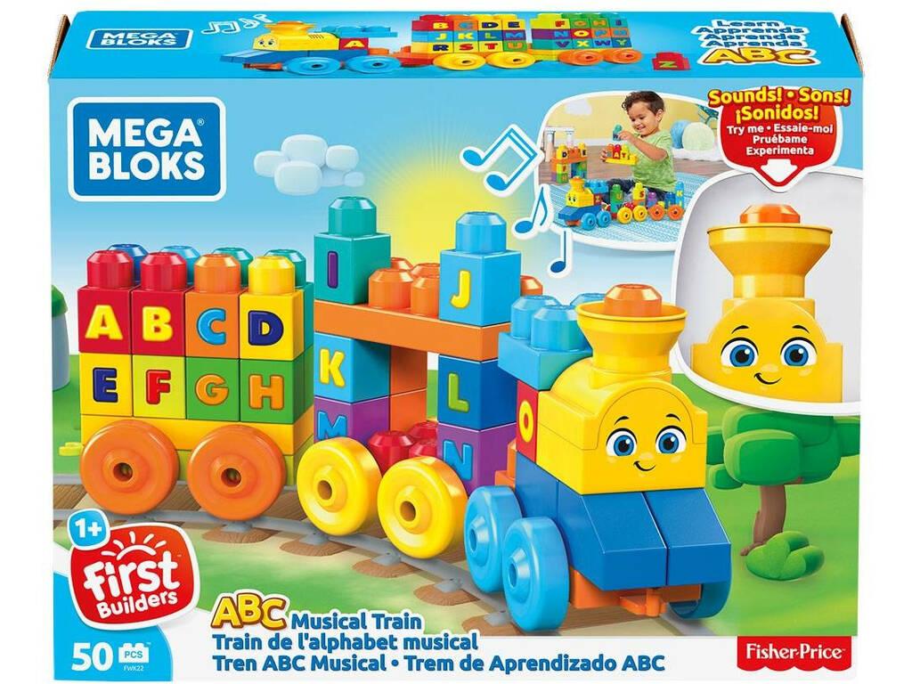 Tren Musical Mega Bloks ABC Mattel FWK22
