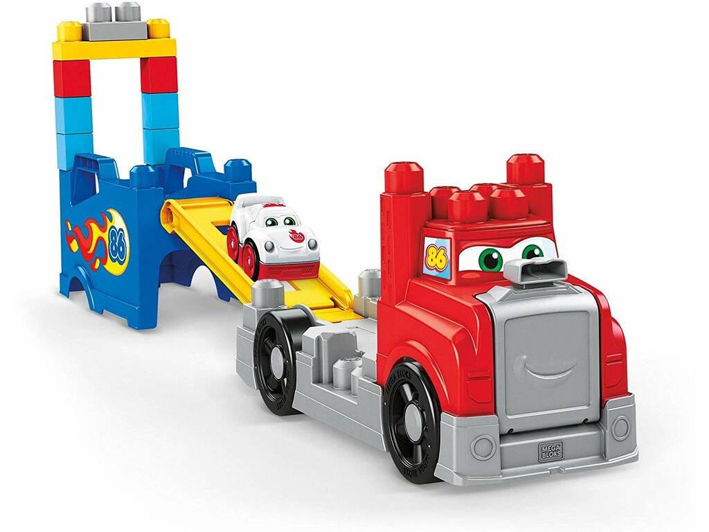 Megabloks Camión Carreras y Construcción Mattel FVJ01