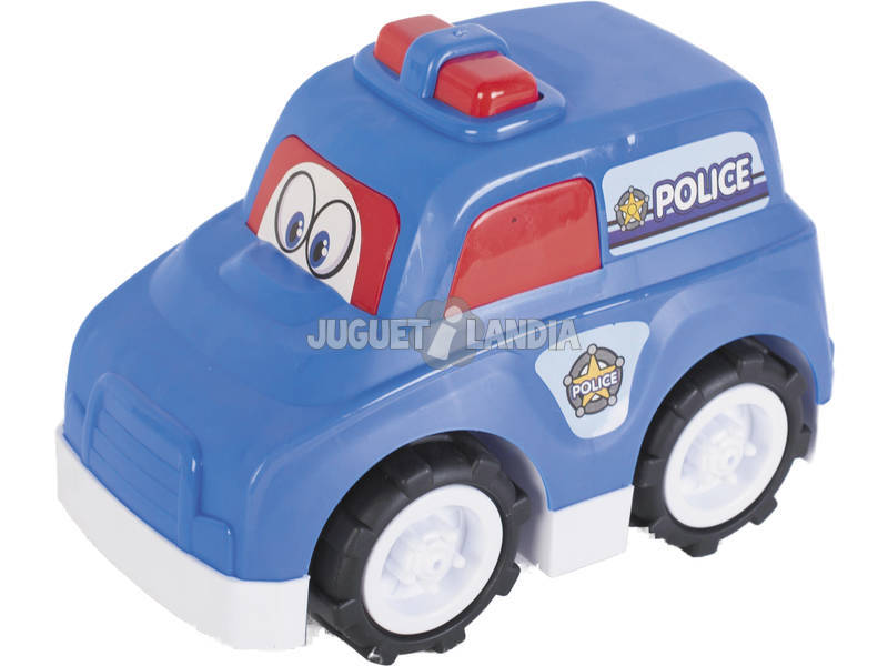 Coche Policia Playa 25 cm.