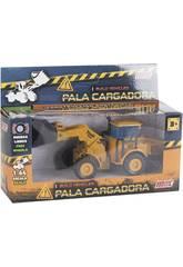 imagen Vehículo Construcción Die Cast 1:64 14 cm. Pala Cargadora
