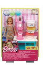 Barbie Stacie y Su Set De Desayuno Mattel FRH74
