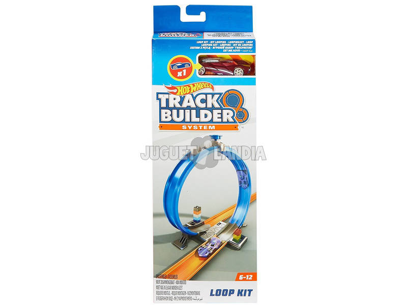 Hot Wheels Track Builders Kit Partes Básicas Mattel FPF03