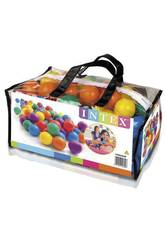 Pack 100 Bolas Multicolor de 6.5 cm. Intex 49602