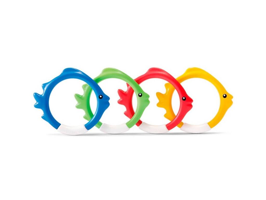 Giochi Sportivi Intex Anello con pesciolini Intex 55507