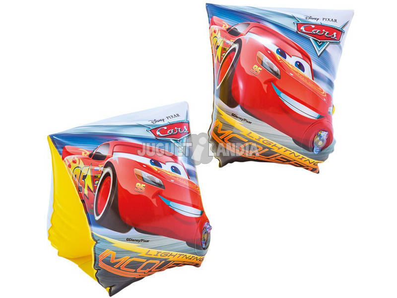 Manguitos Hinchables Cars de 23x15 cm. Intex 56652
