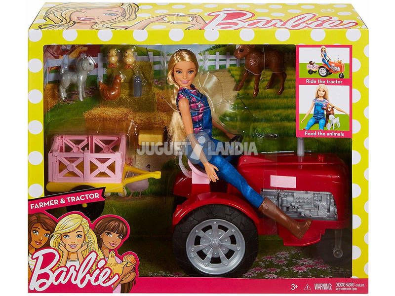 Barbie Quiero Ser Granjera Mattel FRM18
