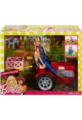 Barbie Bambola e Trattore Mattel FRM18
