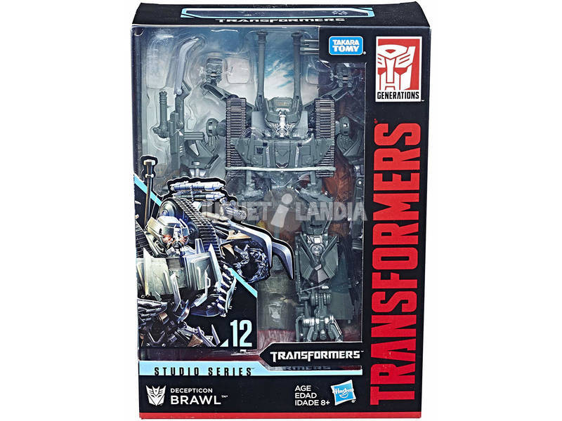 Personaggio Transformers Studio Series Voyager Hasbro E0702