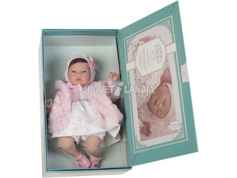 Boneca Reborn Valentina 46 cm. Guca 10032