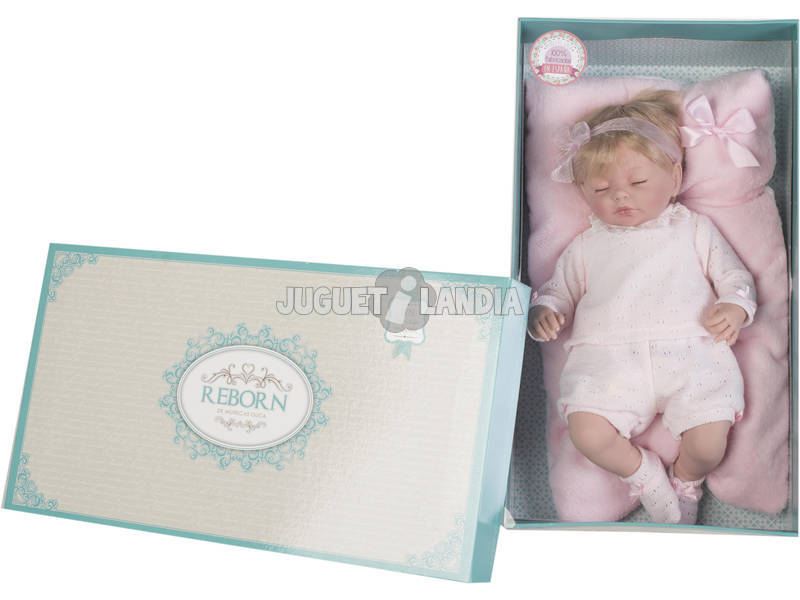Boneca Reborn Valéria 46 cm Guca 10022
