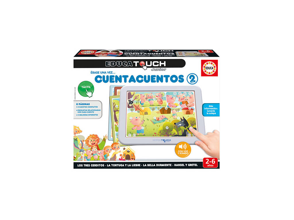 Educa Touch Junior Cuentacuentos 2 Educa 17952