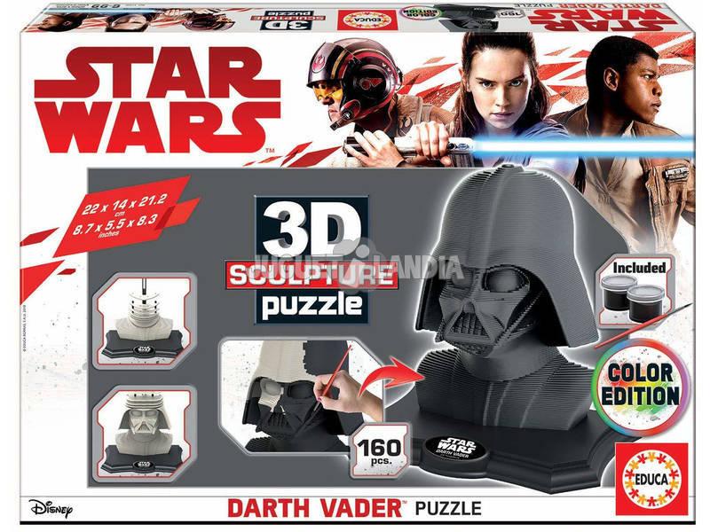 Puzzle Cor 3D Escultura Darth Vader Educa 17334