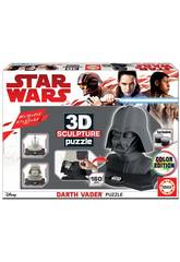 Puzzle Color 3D Escultura Darth Vader Educa 17334